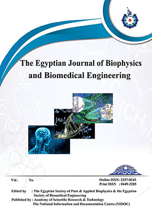 Egyptian Journal of Biomedical Engineering and Biophysics